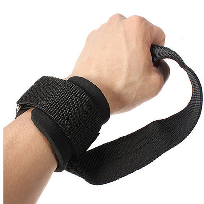 Paddle Weight Lifting Straps, Free Size (1 Pair) - Gym Fitness Accessories