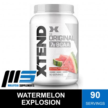 Scivation Xtend Original, 90 Servings - Intra Workout, Amino Acids, Glutamine, BCAAs, Instant Muscle Recovery