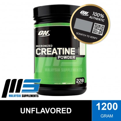 Optimum Nutrition Micronized Creatine Powder, Unflavored (CREATINE) - Post Workout, Muscle Strength & Endurance