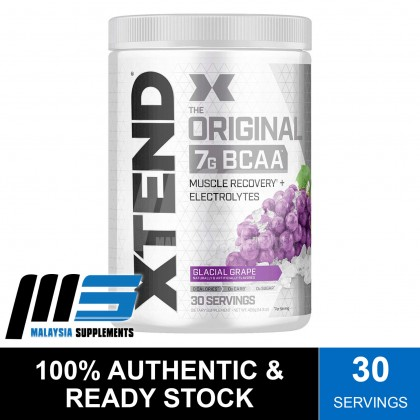 Scivation Xtend Original BCAAs, 30 Servings - Post Workout, Amino Acids, Glutamine, BCAAs, Instant Muscle Recovery