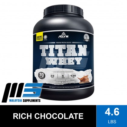 Agym Nutrition Titan Whey, 70 Servings - Protein, Halal Whey Protein Powder, Muscle Building, Lean Muscle