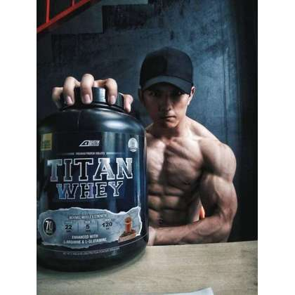 Agym Nutrition Titan Whey, 70 Servings (FREE SHAKER!) - Protein, Halal Whey Protein Powder, Muscle Building, Lean Muscle