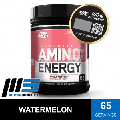 Optimum Nutrition Essential Amino Energy, 65 Servings - Post Workout, Amino Acids, Glutamine, BCAAs, Instant Muscle Recovery