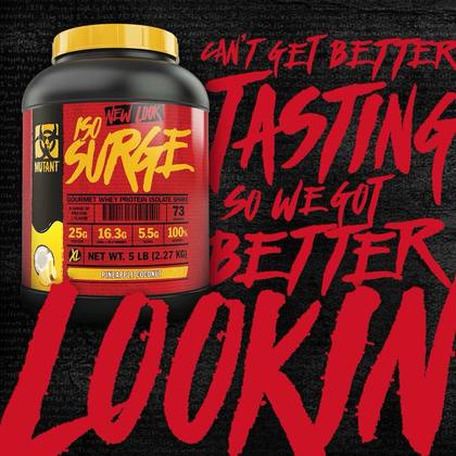 Mutant ISO Surge, 5lbs - Whey Protein Powder, Muscle Building, Lean Muscle, Susu Gym