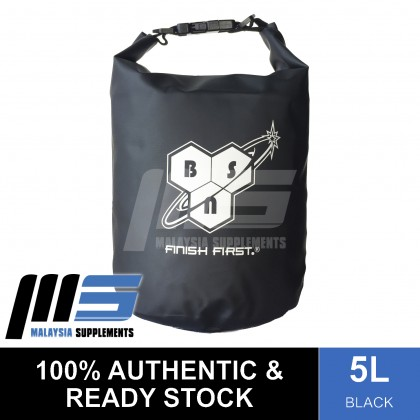 Limited Edition Official Brand Dry Bag, 5L (Black) - Gym Bag, Accessories, Sport, Fitness, Workout Gears