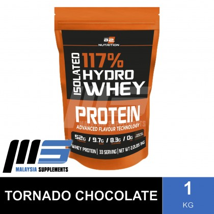 BS Nutrition Isolated Hydro Whey Protein, 1kg (FREE SHAKER) - Whey Protein Powder, Muscle Building, Lean Muscle, Susu Gym